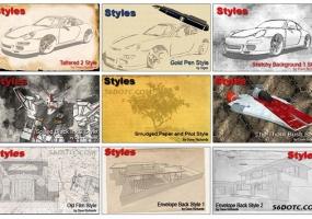 SketchUp Styles Builder 模板