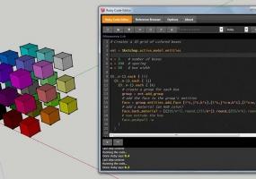 Sketchup Ruby代码编辑器