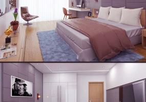 SketchUp精细模型+参数(卧室)