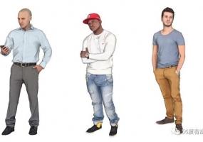 55个SketchUp man精品模型