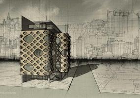 SketchUp异形建模教程|建筑表皮(二)
