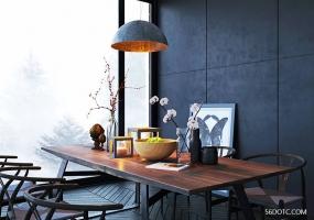 室内小场景日景SketchUp精品模型含VFS参数草图大师