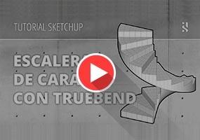 SketchUp草图大师插件教程 TrueBend真实掰弯