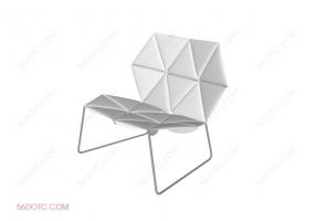 单椅系列001-SketchUp草图大师模型