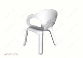 单椅系列003-SketchUp草图大师模型