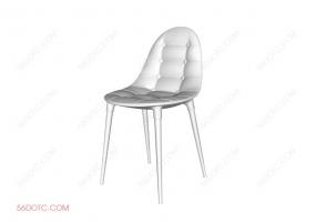 单椅系列002-SketchUp草图大师模型