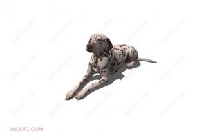 狗0026-SketchUp草图大师模型