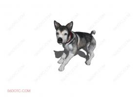 狗0031-SketchUp草图大师模型