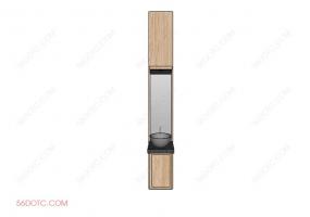 洗手台0063-SketchUp草图大师模型