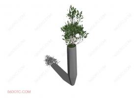 植物00013-SketchUp草图大师模型