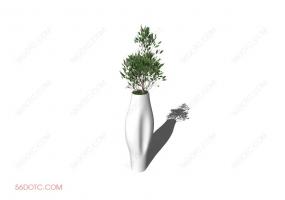 植物00014-SketchUp草图大师模型