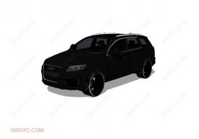 汽车0002-SketchUp草图大师模型