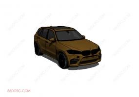 汽车0003-SketchUp草图大师模型