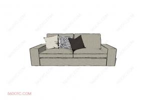 沙发0002-SketchUp草图大师模型