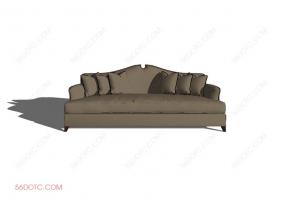 沙发0004-SketchUp草图大师模型