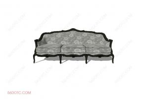 沙发0005-SketchUp草图大师模型