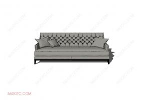 沙发0008-SketchUp草图大师模型