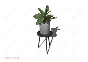 植物00033-SketchUp草图大师模型