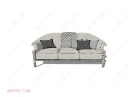 沙发00010-SketchUp草图大师模型