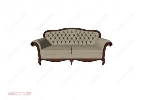 沙发00012-SketchUp草图大师模型