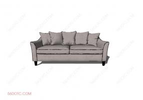 沙发00014-SketchUp草图大师模型