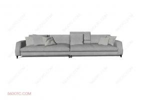 沙发00016-SketchUp草图大师模型