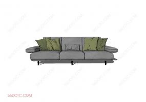 沙发00017-SketchUp草图大师模型
