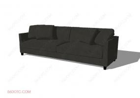 沙发00043-SketchUp草图大师模型