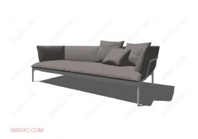 沙发00044-SketchUp草图大师模型