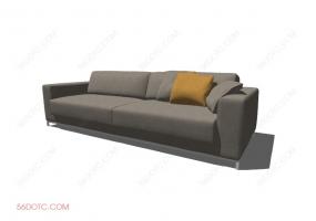 沙发00045-SketchUp草图大师模型
