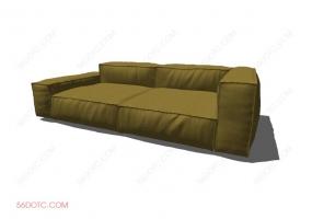 沙发00046-SketchUp草图大师模型