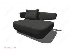 沙发00047-SketchUp草图大师模型
