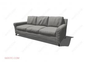 沙发00048-SketchUp草图大师模型