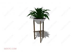 植物000164-SketchUp草图大师模型