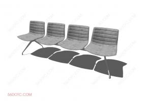 椅子00022-SketchUp草图大师模型
