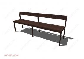 椅子00024-SketchUp草图大师模型