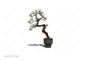 植物000186-SketchUp草图大师模型
