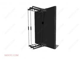 器材00022-SketchUp草图大师模型