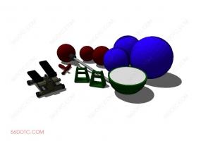 器材00026-SketchUp草图大师模型