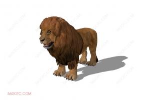 动物00013-SketchUp草图大师模型