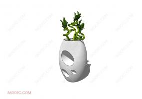植物000234-SketchUp草图大师模型