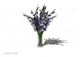 植物000236-SketchUp草图大师模型