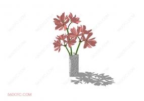 植物000237-SketchUp草图大师模型