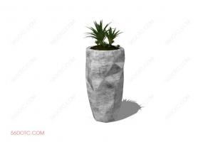植物000240-SketchUp草图大师模型
