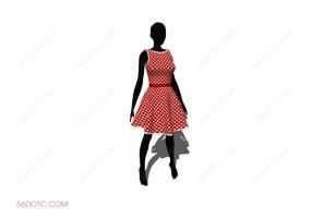 服装00010-SketchUp草图大师模型
