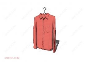 服装00013-SketchUp草图大师模型