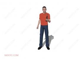 人物00020-SketchUp草图大师模型