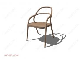 椅子00045-SketchUp草图大师模型