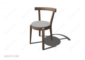 椅子00046-SketchUp草图大师模型