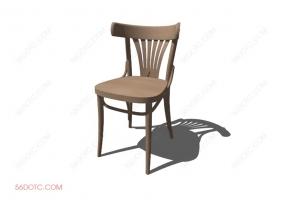 椅子00047-SketchUp草图大师模型